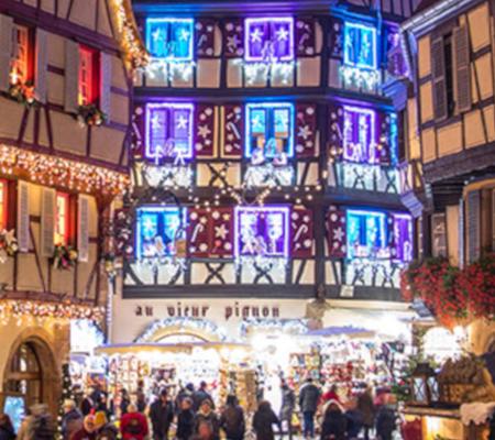 Marche de noel Alsace