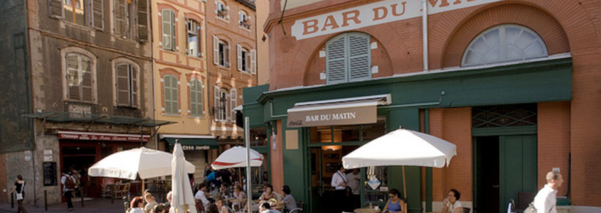 Quartier des Carmes Toulouse, bar du matin toulouse, les carmes toulouse, brique rose toulouse, centre ville toulouse