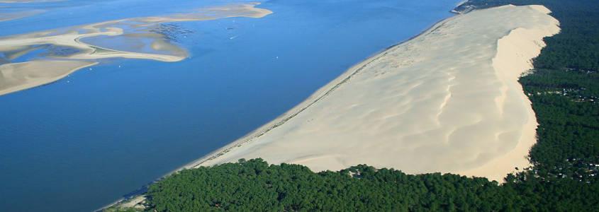 dune du pilat, banc d'arguin, bassin d'arcachon, arcachon