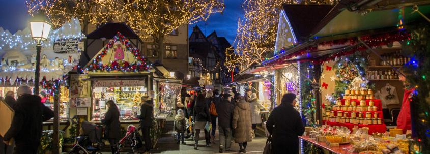 Place Jeanne d'Arc, Place Jeanne d'Arc Colmar, Jeanne d'arc square colmar, christmas market colmar