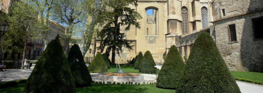 Jardin de l'archevêché Narbonne, Jardin de l'archevêché, Palais des archevêques narbonne