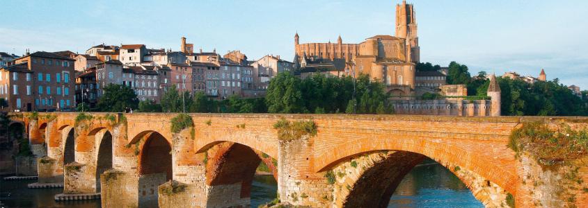 Pont Vieux Albi, albi pont, albi vue
