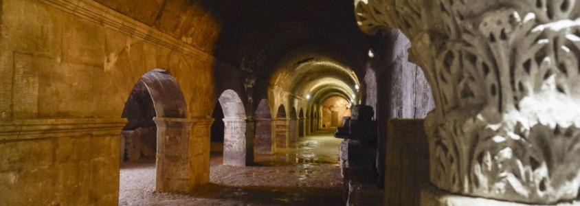 Cryptoportiques de l'Ancien Forum, Cryptoportiques de l'Ancien Forum arles, cryptoportiques arles, visite monuments arles, visiter arles, monuments romains arles