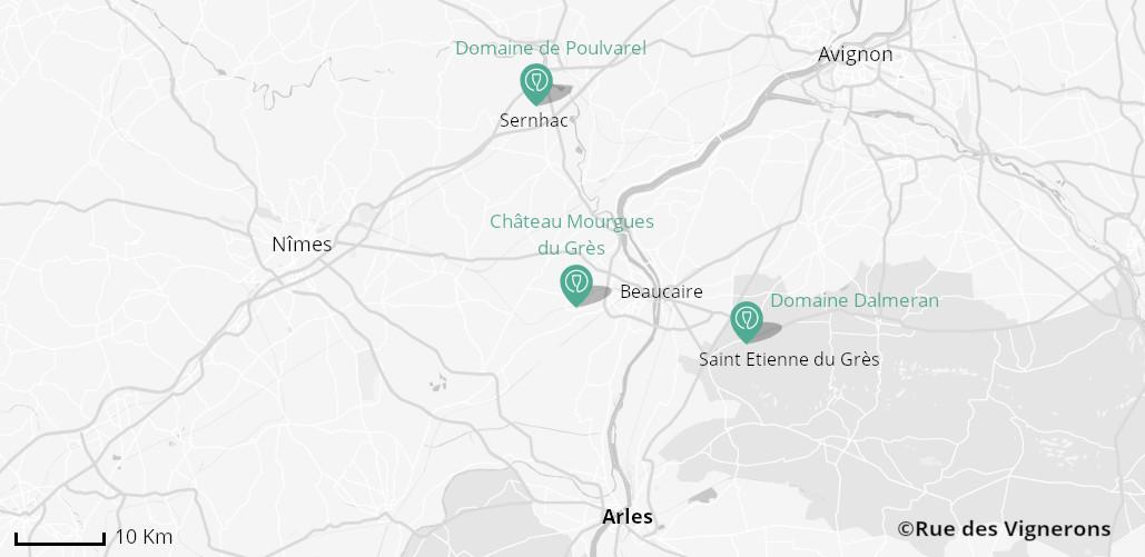 Domaines aux alentours d'Arles, domaines viticoles provence, domaines viticoles vallee du rhone, dégustation vins provence, dégustation vins vallee du rhone sud