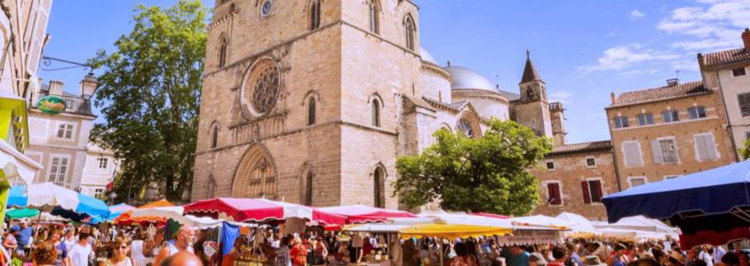 Marché de Cahors, marché cahors, cahors petit marché