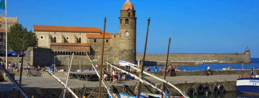 Notre dame des anges church, Notre dame des anges church collioure, church collioure, collioure symbol, view collioure, pictures collioure