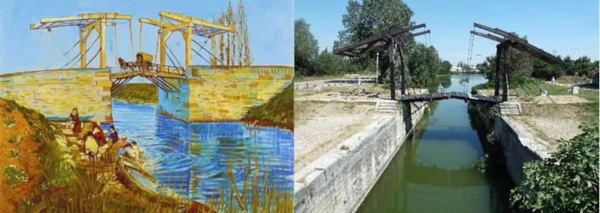 Pont de Langlois, Pont de Langlois arles, pont arles, pont van gogh, pont van gogh arles