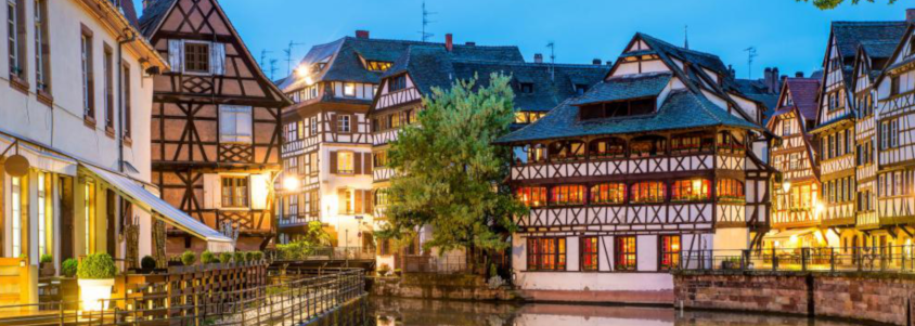 alsace wine route village, strasbourg, strasbourg alsace, strasbourg by night