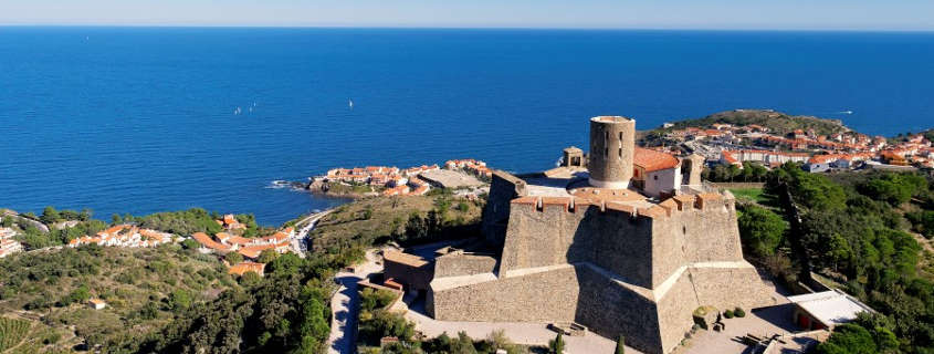 Fort Saint Elme, Fort Saint Elme Collioure, sightseeing collioure, sighseeing south of france