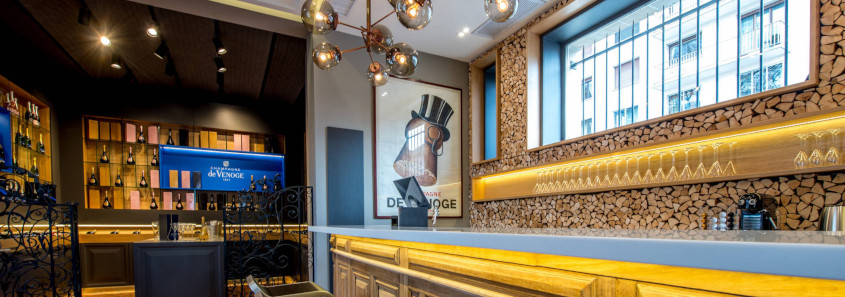 De Venoge champagne house, de venoge epernay, champagne and food pairing epernay, de venoge restaurant epernay