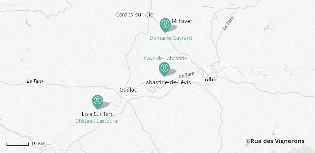 Domaines aux alentours d'Albi, vignoble albi, vignoble gaillac, dégustation vins sud ouest, dégustation vin albi, dégustation vin gaillac