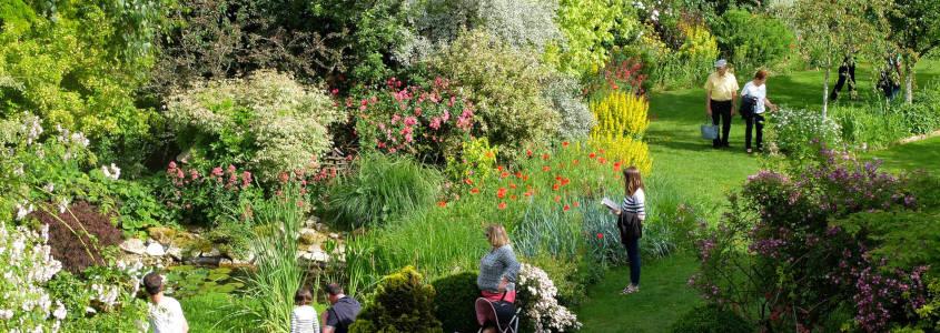 Jardin de Marie, Jardin Sancerre, Parc Sancerre