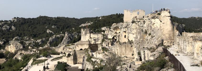 Château des Baux de Provence, les baux de provence château, visiter le château des baux de provence