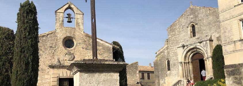 Église Saint Vincent, Église Saint Vincent Les Baux de Provence, église Les Baux de Provence, chapelle des pénitents blancs Les Baux de Provence