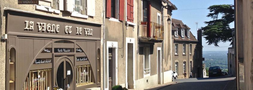 Sancerre, Sancerre Loire, Ville médiévale Sancerre, ruelles Sancerre
