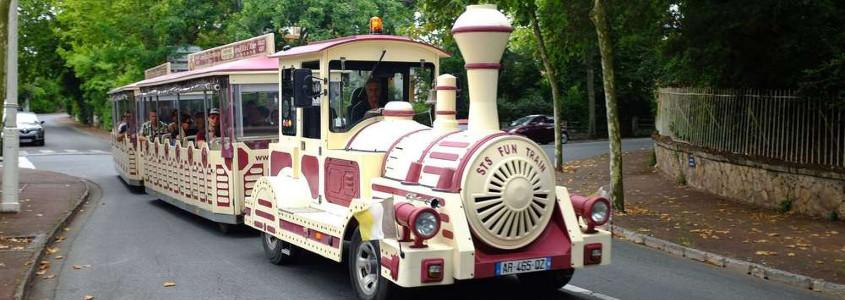 Le Petit Train d'Arcachon, arcachon train touristique, petit train d'été arcachon, arcachon petit train circuits