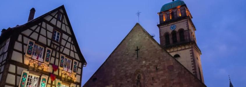 Marché de noël, Alsace, Visiter Kaysersberg, Route des vins d'Alsace