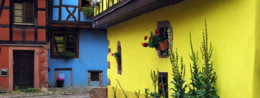 Rues Kaysersberg, se balader dans Kaysersberg, VLe Château de Kaysersbeg, Kaysersberg, Visiter Kaysersberg, Alsace, Visiter l'Alsace, Route des vins Alsace, Vignoble Alsace, Que faire à Kaysersberg