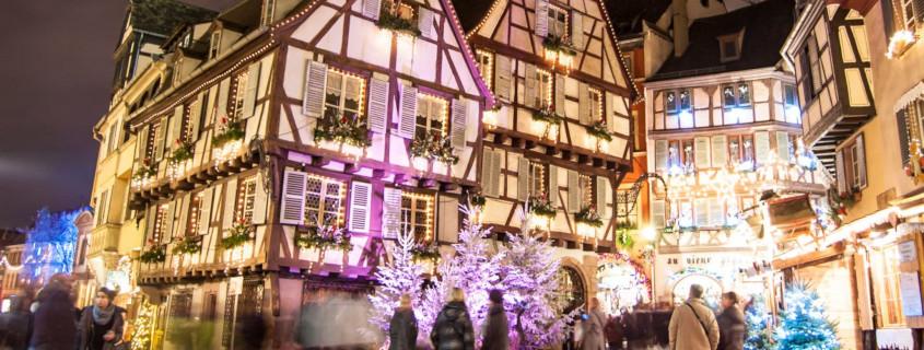Noël en Alsace, Marché de noël d'Alsace, Alsace, Kaysersberg, Marche de noël Kaysersberg, Kaysersberg, que faire à kaysersberg, église sinate-croix, crèche de noël, avent