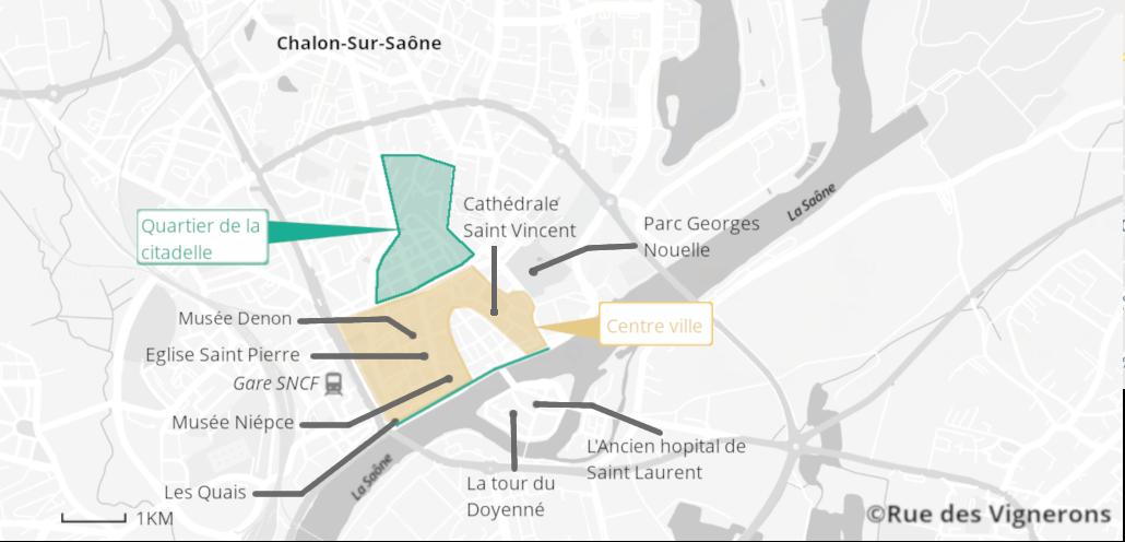 Visiter Chalon-Sur-Saône, que voir à Chalon-Sur-Saône, Chalon-Sur-Saône, Bourgogne, Route des vins de Bougrogne