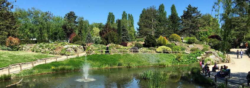 Parc Georges Nouelle Chalon sur Saone, Parc des biches Chalon sur Saone