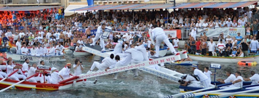 Les Joutes nautiques à Sète