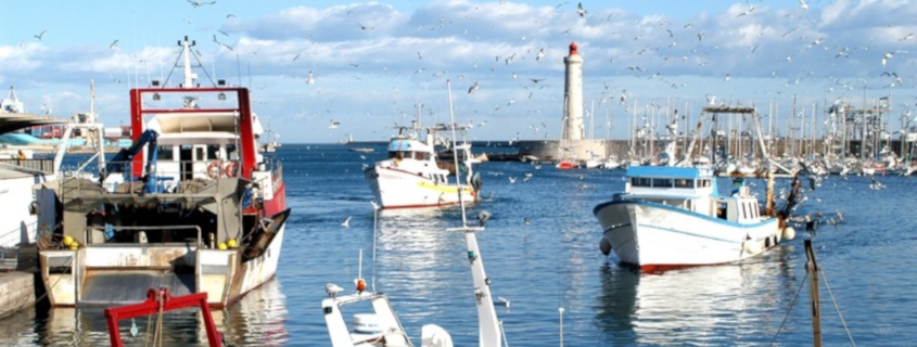 Port de pêche Sète