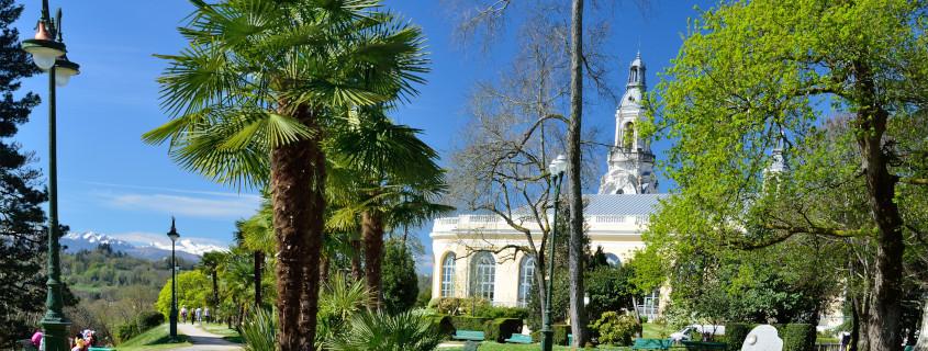 Le parc Beaumont de Pau