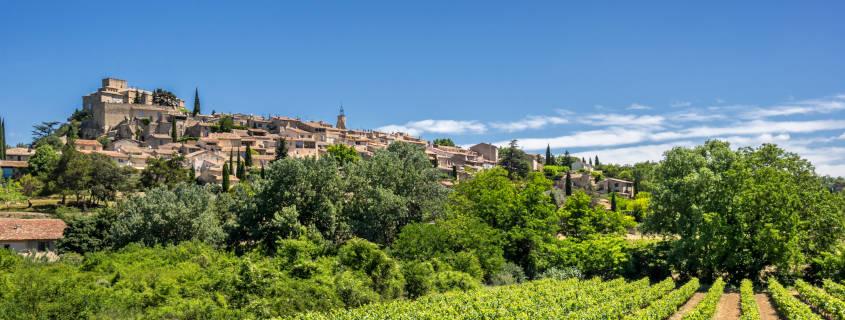 Le village d'Ansouis