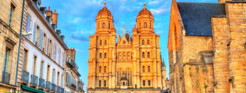 visite dijon, ville, tourisme, cathédrale