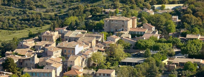 Le village de Rustrel