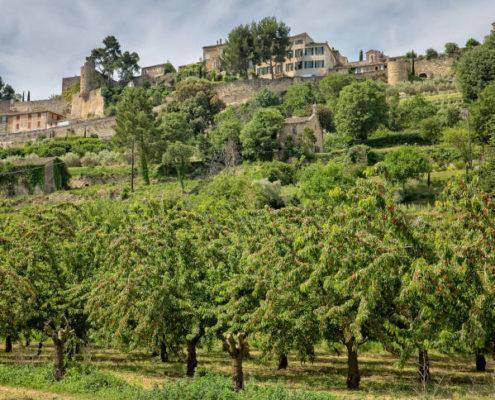 Village de Ménerbes dans le Lubéron