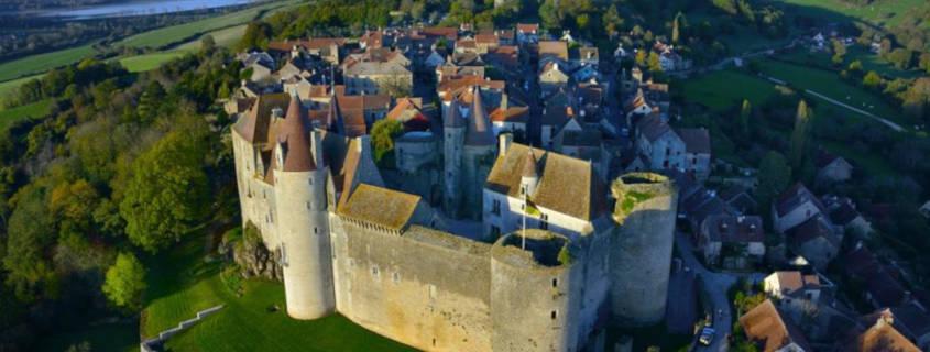 chateauneuf-en-auxois, visite, remparts, tourisme, cote d'or