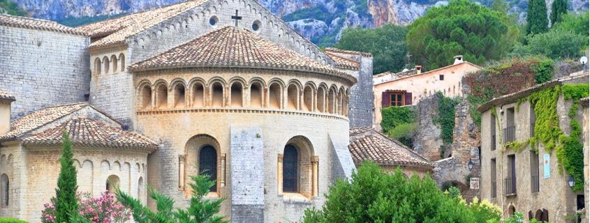 Abbaye de Gellone Saint Guilhem le Désert Hérault